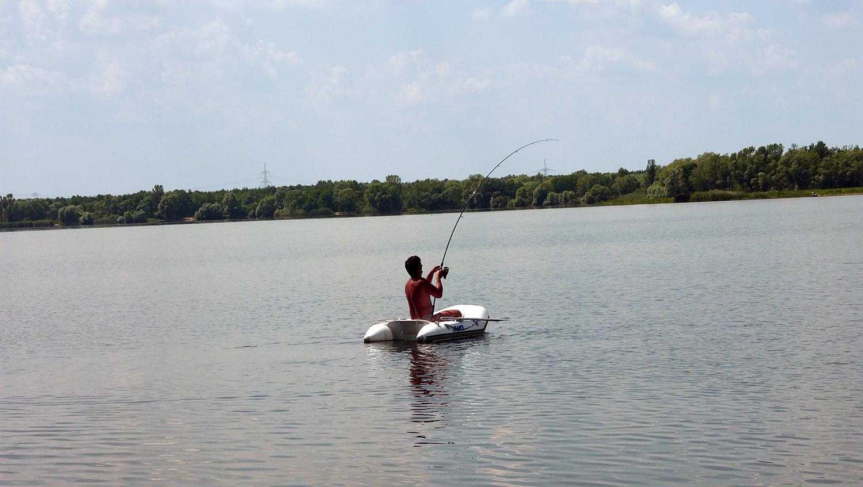 Karpfen angeln vom Boot