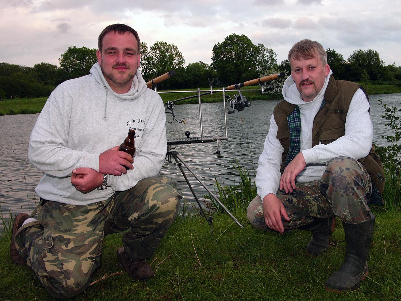 überfischte Seen mit Karpfen