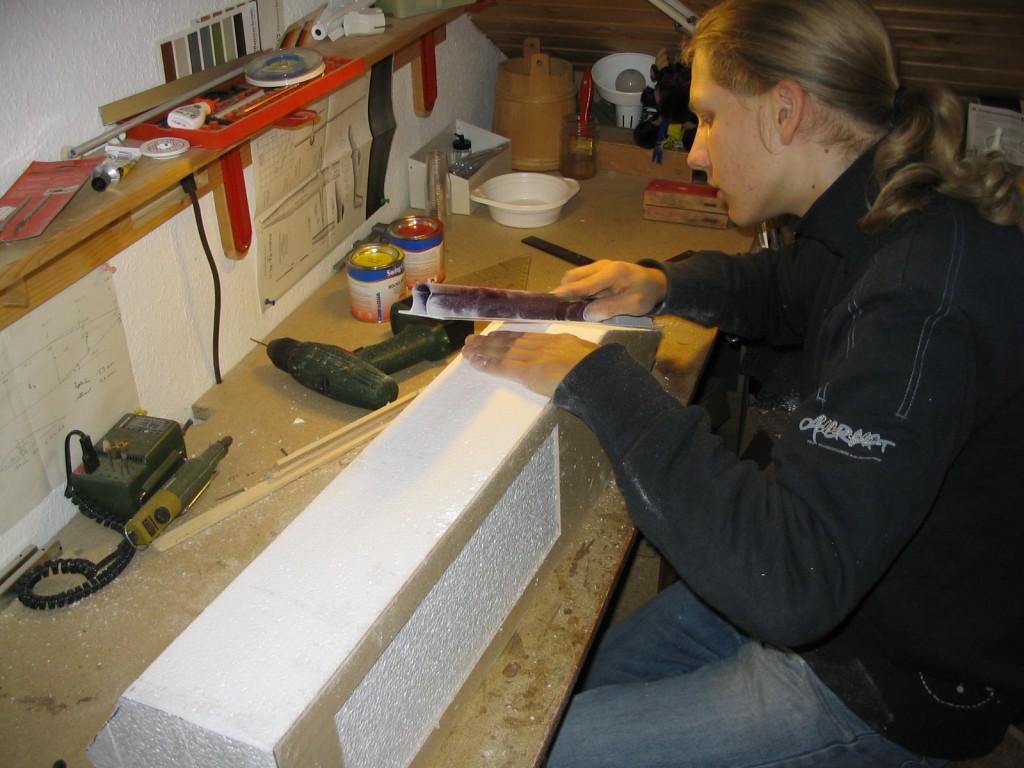 Karpfen Futterboot bauen 10