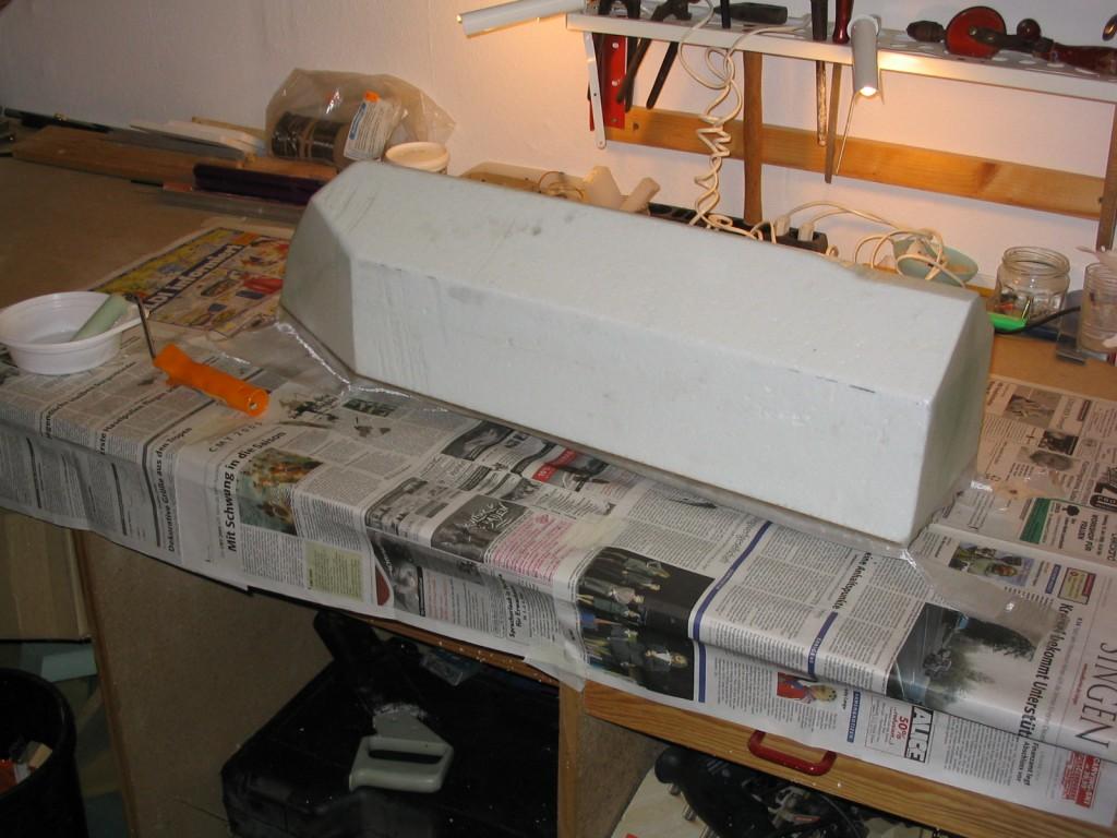 Karpfen Futterboot bauen 12