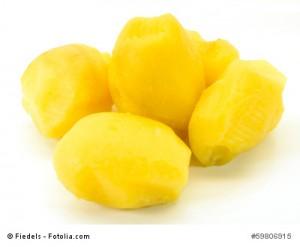 Kartoffel zum Angeln