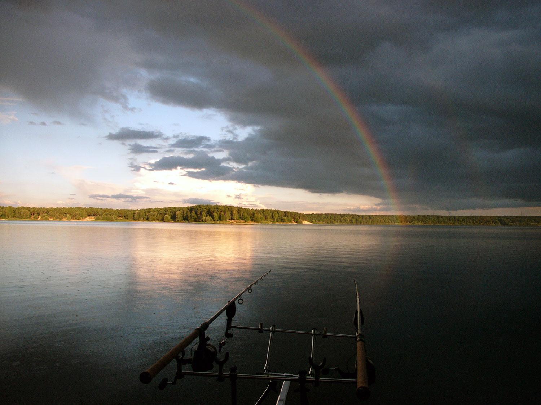 Regenbogen, der Wille war Stärker