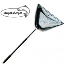 Angel Berger Karpfenkescher Kescher mit Kescherstab - 1
