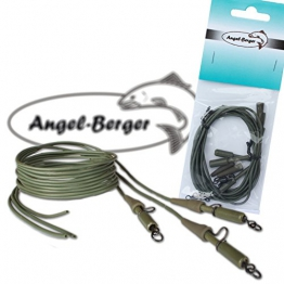 Angel Berger Safety Lead Clip Rig fertige Montage - 1
