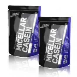 ESN Micellar Casein 2 x 1000g Beutel - Geschmack: Chocolate + Chocolate = 2 Kg - 1