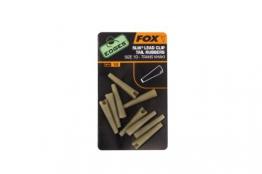 Fox Edges Lead Clip Tail Rubber Schlauch (10 Stück) - 1