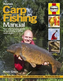Haynes Buch Karpfen Angeln Manuelle der Schrittweise Anleitung zu werden, eine bessere Angler mit einer AA Magic Mitt Mikrofaser-Handschuh - 1