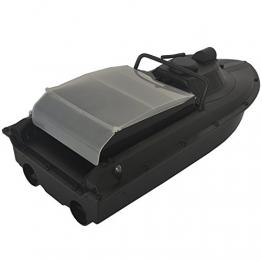 JABO BAIT BOAT JB-2AL-2.4g Köder-Boot 600×240×155mm Geschwindigkeit: 1 m / s / 300m Kontrolle und detektieren Fernbedienung -Boot (ab Lager Deutschland) - 1