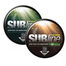 Korda SUBline Ultra Tough Karpfenschnur 1000m Schnur, Durchmesser:0.40mm;Farbe:grün - 1