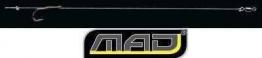 MAD - DAM - LINE ALIGNER RIG BARBLESS 2 Stück je Packung Vorfach Gr. 1 - 1