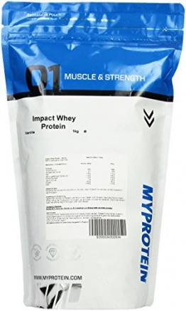 Myprotein Impact Whey Protein Vanilla, 1er Pack (1 x 1 kg) - 1