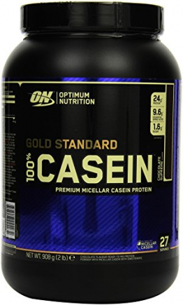 Optimum Nutrition Casein Protein  Chocolate Supreme, 1er Pack (1 x 908 g) - 1