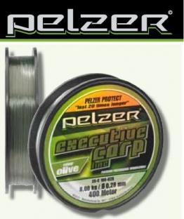 Pelzer Executive Carp Line 400m Karpfenschnur, Durchmesser:0.40mm;Farbe:olive - 1