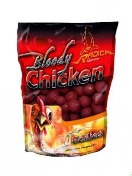 Quantum Naturköder 20mm/1kg Radical Boilie Bloody Chicken, mehrfarbig, 3955008 - 1