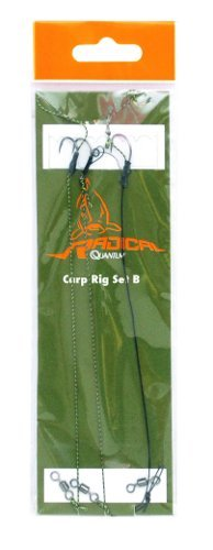 Quantum Radical Carp Rig Barbless D-Rig Aligner Rig size 8 hooks 3 per pack - 1