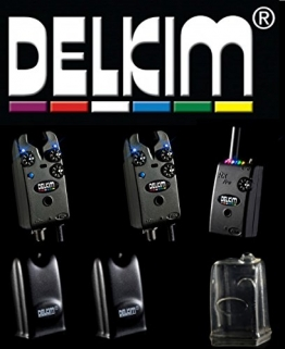 2 Delkim TXi Plus Bissanzeiger + RX Receiver Plus Pro 6 Led -