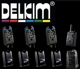 3 Delkim TXi Plus Bissanzeiger + RX Receiver Plus Pro 6 Led -