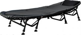 Angelspezi 8-Bein Luxus Karpfenliege Bedchair mit Matratze -