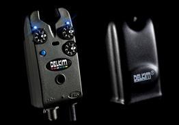 Delkim Txi Plus Bissanzeiger Funkbissanzeiger + Delkim Hardcase, Farbe:Blau -