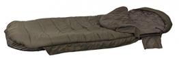 Fox Evo-Tec ERS1 Sleeping Bag 90x206cm Schlafsack, Angelschlafsack, Anglerschlafsack zum Nachtangeln -