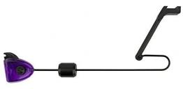 FOX MK3 Swinger Bissanzeiger - Pedelbissanzeiger zum Karpfenangeln, Farben wahlweise: rot, grün, orange, blau oder schwarz, verschiebbares Gewicht & einfach Montage!, Farbe:Purple -